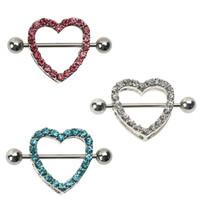 Misturar estilos Piercing no corpo Umbigo Umbigo Anel coração seta cobra 316L Alérgico Medical umbigo Piercing no umbigo