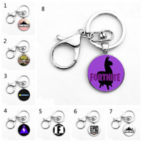 9 Style Fortnite llama Key ring toy props hot and classic gi...