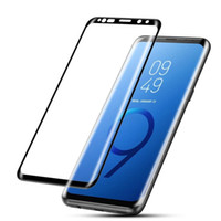 Full Glue Tempered Glass For Samsung Galaxy S9 S9+ Note 9 8 ...