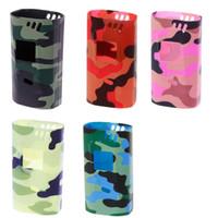 Camuflagem capa protetora luva de silicone tampa da pele para smok estrangeiro kit 220w box