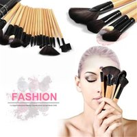 Pro 24 Pcs Makeup Brush Cosmetic Tool Kit Eyeshadow Powder B...