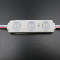 سطوع عالية IP66 حقن LED وحدة 2835 1.5W 3LEDS الإضاءة الخلفية تسجيل للماء الأبيض ضوء 12V 150LM كل الإعلانات