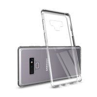 Luxury Tempered Glass Phone Case 2in1 Clear Tempered Glass S...