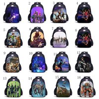 Teenager Fortnite cartoon student School Bag Oxford cloth Ba...
