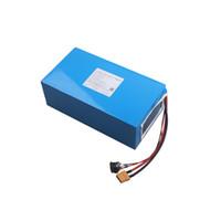 울트라 전원 충전식 48V 18Ah 전기 스쿠터 배터리 LG INR18650-M26 및 48A 750W 전기 스쿠터 변환 키트에 대 한 25A BMS