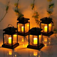New Solar Lights Outdoor Hanging Solar Lantern Solar Garden ...
