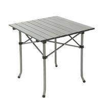 Aluminiumrahmen und MDF-Tischplatte aus Metall Klapptisch Stühle für Camping Picknick BBQ Prep mit Klapptisch Stuhl Hocker Set