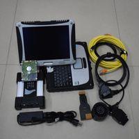 متعدد اللغات Super for BMW ICOM Next Scan Tool الإصدار الأعلى ISPI HDD مع CF-19 Laptop سنة واحدة الضمان التشخيص Sanner
