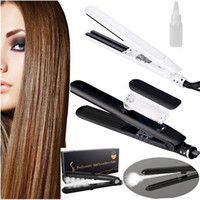 Argan Oil Steam Hair Straightener Flat Iron Injection Painti...