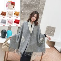 Hot Selling Letter Tassel Scarves Wrap Wrap Scarf Winter Sha...