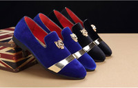 201 Hot sales fashion men party and wedding handmade loafers...