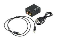 디지털 Adaptador 광 동축 RCA Toslink 신호 - 아날로그 오디오 컨버터 어댑터 케이블 LLFA