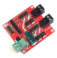 Ücretsiz kargo! 1 adet / grup 2 Kanal CH Çift H-köprü DC Motor Sürücü Modülü Pozitif / Negatif Döndür PWM Düzenleme Optocoupler Izolasyon L29