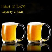 24pcs Lot Wholesale 390ML Beer Mug Cup With Handle Hot Tea J...