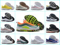 the latest 9af3c 02a91 2018 Nuevas zapatillas AIR Ultra 97 OG para correr 97s Chaussures Tn Hombre  invicto Off Black