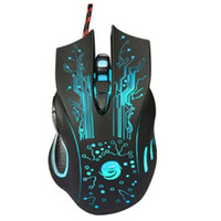3200DPI LED Optical Mouse 6 Botones USB Wired Gaming Mouse para computadora Professional Gamer para PC Laptop Plug and Play