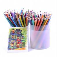 120 Bellas Artes Lápices de dibujo coloreados Conjunto oleoso No tóxico para escribir Bocetos Lapices de colores Escuela Dibujo de Bellas Artes