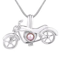 New Design birthday gift cool motorcycle plated silver cage ...