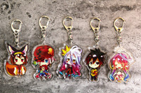 Anime Cosplay NO GAME NO LIFE Shiro Sora Jibril Acrylic Keyc...