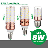 LED Corn Lamp LED Candle Bulb AC220- 240V 8W 12W 16W Energy s...