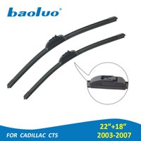 BAOLUO 2PCS Car Windshield Wiper Blades For Cadillac CTS 200...