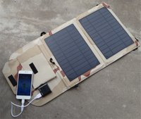 DHL 10W Solar Charger Foldable Bag Universal Solar Panel Pow...