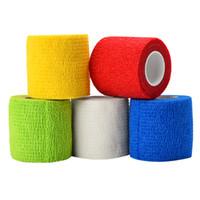 5 Farben Elastic Bandage Medical Tape Einweg Vlies Wasserdicht Selbstklebende Elastic Bandage Tattoo Zubehör Griff Wasserdicht
