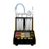 Autool CT-150 البنزين سيارة نارية السيارات بالموجات فوق الصوتية حاقن الوقود آلة التنظيف اختبار 220 فولت / 110 فولت تبسيط 4 اسطوانات