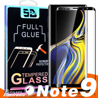 3D Full GLUE Coverage Tempered Glass For Samsung Galaxy Note...