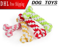Newly Chewed Bone Pet Toy Dog Toys Rope Pet Dog Toy Color Bo...