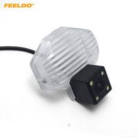 Feeldo retrovisione inverso della macchina fotografica con 4LED si illumina per Toyota Corolla / VIOS / Avensis Parcheggio Camera # 4053