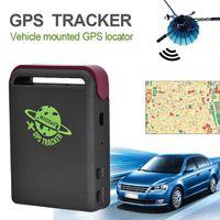 Mini tracker GPS per auto Mini GPS / GSM / GPRS Tracker per auto in tempo reale TK102B 10PCS / LOT Tracking in tempo reale persona, auto, animali domestici, bambini