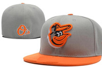 National Team Fitted Orioles hats Baseball Embroidered Team ...