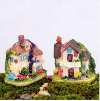 اللبلاب فيلا البيت مصغرة الجنية حديقة المنزل المنازل الديكور البسيطة كرافت ديكور الحدائق الصغيرة الاكسسوارات ديي