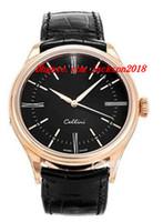 Montre de luxe CELLINI 18KT ROSE GOLD REF.50505 Montre Homme Mécanique Automatique Montre Homme de Qualité Supérieure