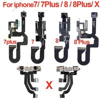 Original Pour iPhone 6 6S Plus 7 7G 7Plus 8 8G 8Plus Plus X Caméra avant Câble Flex Face arrière avec module de capteur de proximité lumineux