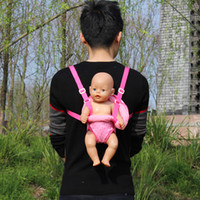 Outdoor Shoulder Bags Fit For 43cm Zapf Dolls Baby 17 Inch R...
