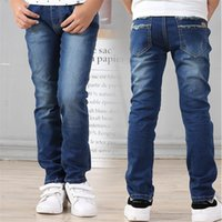 Street Fashion Boys Jeans Soft 2017 Kids Trousers Denim Jean...
