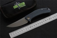 Free shipping, Green thorn JEANS Flipper folding knife m390 s...