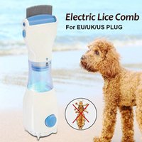Electric Pet Flea Brush Comb Head Lice Removal Hair Fur Shed...