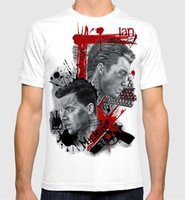 Summer Style Fashion Shameless Gallavich Art T- shirt Ian Gal...