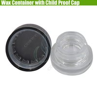 New Pyrex Wax Container Child Proof Cap Cover Dab Glass Jars...