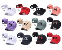 48 Colors Brand UA Baseball Cap Snapbacks Unisex Men Women V...