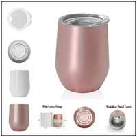 9oz Egg Cups with Lids 304 Insaluted Vacumn Stainless Steel ...