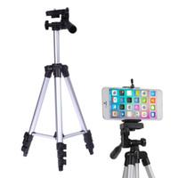 Titulaire de titres de trépied de caméra professionnelle pour téléphone iPad Samsung Caméra numérique + table / PC + porte-téléphone + sac de transport en nylon