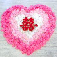 200pcs / lot 웨딩 액세서리 인공 꽃잎 꽃 장미 꽃잎 결혼식과 파티 생일 장식 선택할 수있는 16 가지 색상