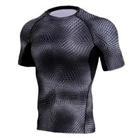 New Rashgard Running T Shirt Men Compression Shirt Mens Quic...