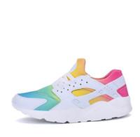 huarache Erkek Koşu Ayakkabıları huarache Sınırlı Toptan 2018 yeni tasarımcı gökkuşağı Kalite Huarache Run Ultra IV Nefes Örgü Yastık Ucuz Sneaker