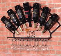 Porta bicchiere da vino in legno Porta cremagliera da vino in legno Frasqueira Calici Rack Stones per Whisky Shelf Attrezzature per birra Birra
