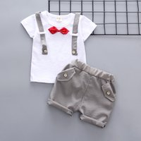 2018 summer children boys clothing sets kids casual gentlema...